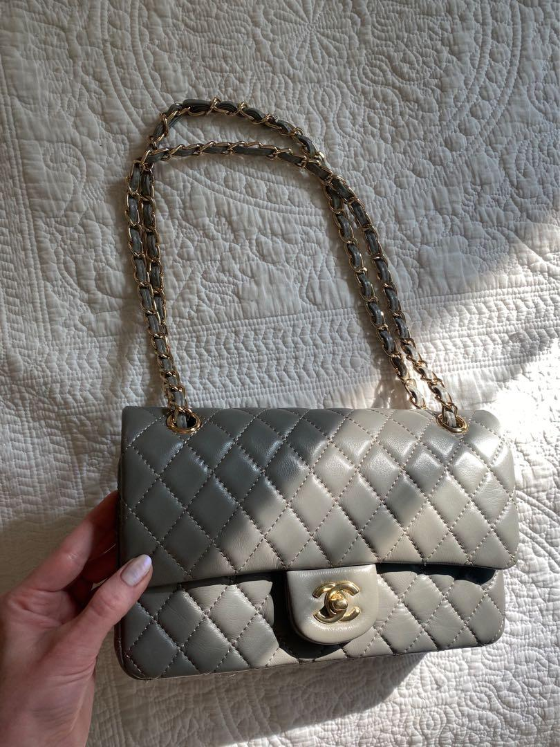 Chic Grey&Gold purse