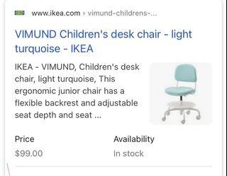 Children's Chair for Sale