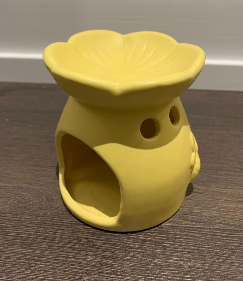 Cute ceramic candle holder