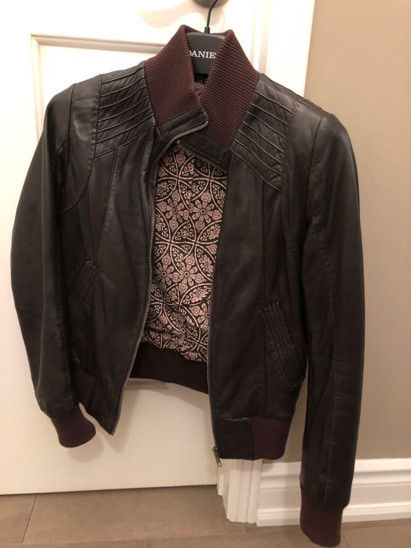 Danier Leather Jacket XXXS