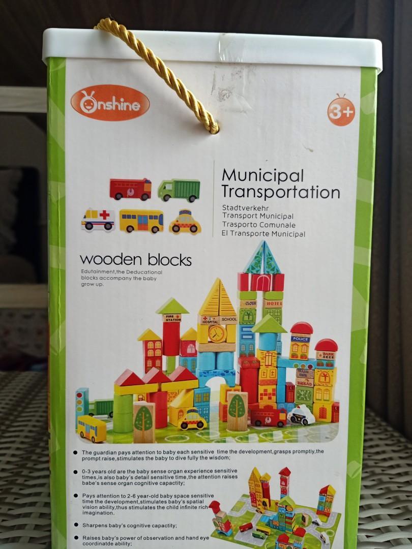 Educational Wooden Blocks