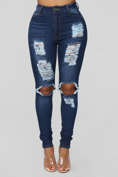 fashion nova ripped jeans