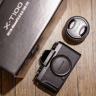 極新富士Fujifilm X-T100+1545鏡頭、已過保固!XA3/XA5/a6000/a6300可參考