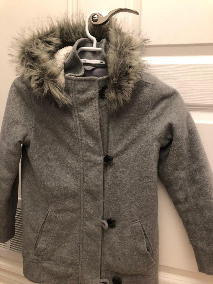 Girls winter coat size medium 8