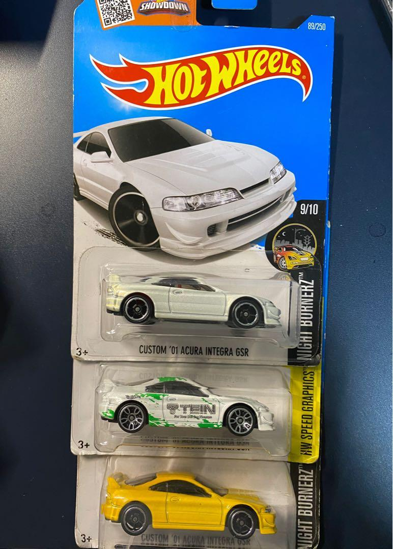 Hot Wheels Honda Acura Integra Gsr Custom Toys Games Others On Carousell