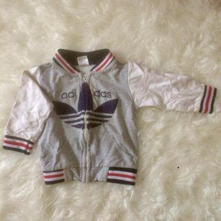 Jaket bayi anak adidas