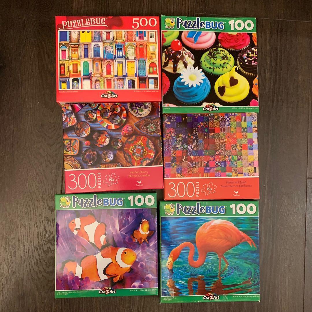 Jigsaw puzzle 100 300 500 pcs