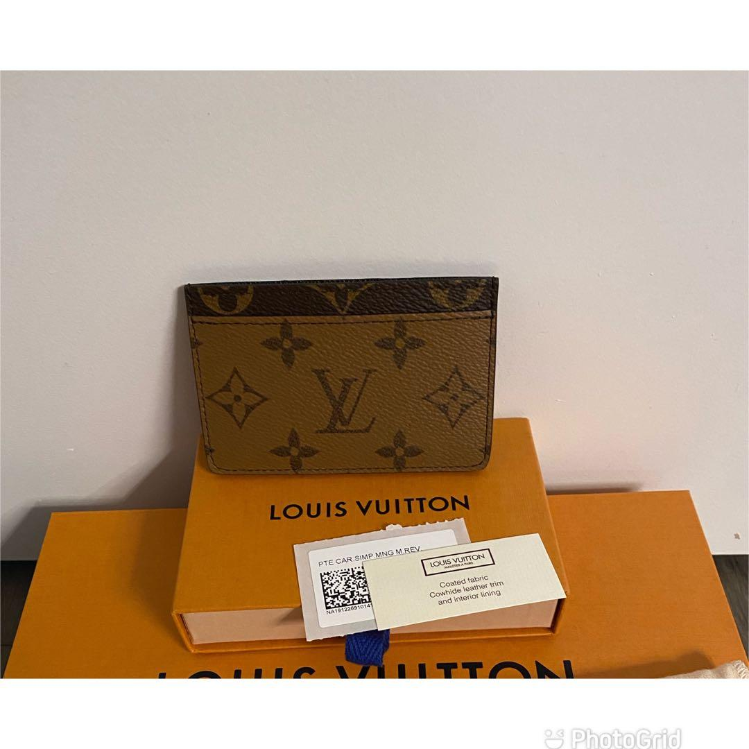 Louis Vuitton Reverse Card Holder- Brand New