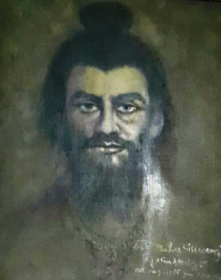 Lukisan Prabu Siliwangi by Jasin Assiry 1985
