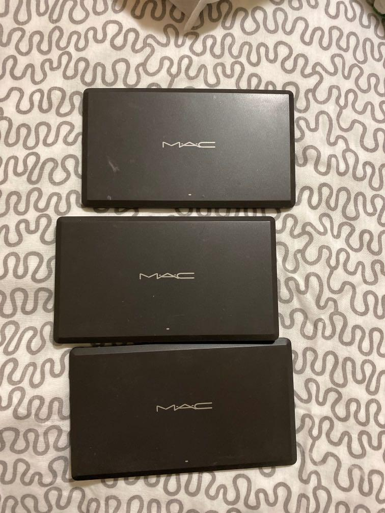 MAC empty palette cases to be used with single eyeshadows