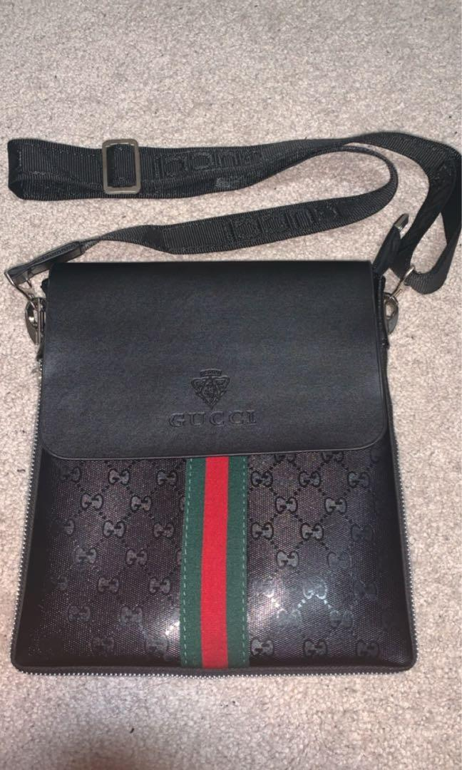 Men's Gucci side bag