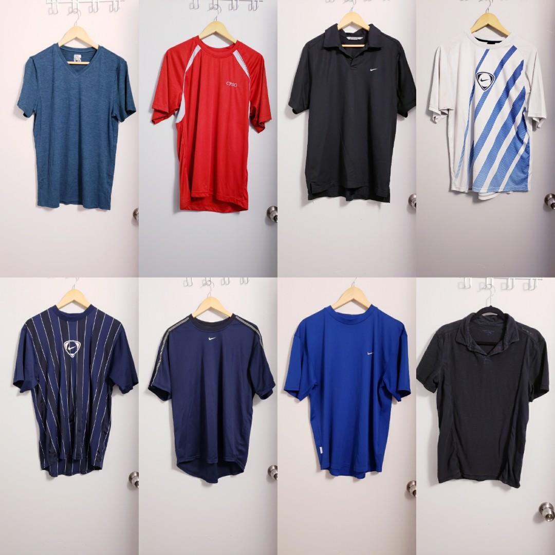 Men's Nike Dri-Fit Shirts & Calvin Klein Bundle