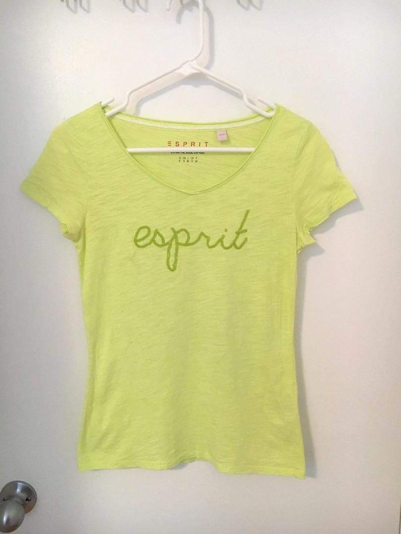 NWOT Esprit Neon T-shirt Size XS/S