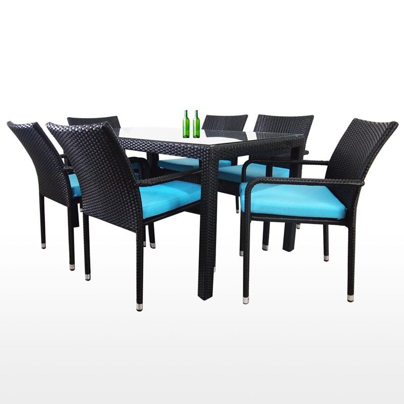 Dining Table Chair Set Arena Living, Patio Furniture Table