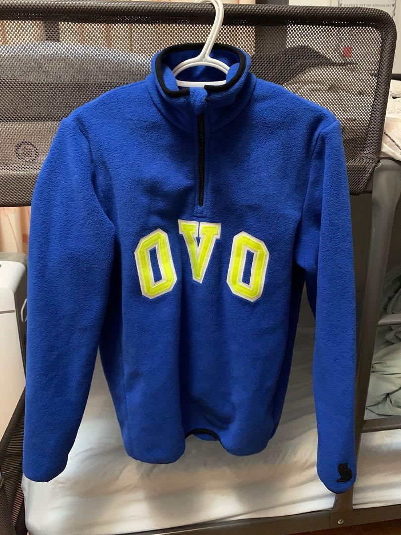 OVO Arch Polar Fleece Half Zip - Royal Blue