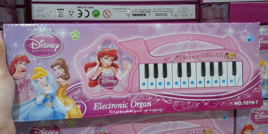 Piano Anak Disney Princess Pink Ariel Kado Ultah Ulang Tahun