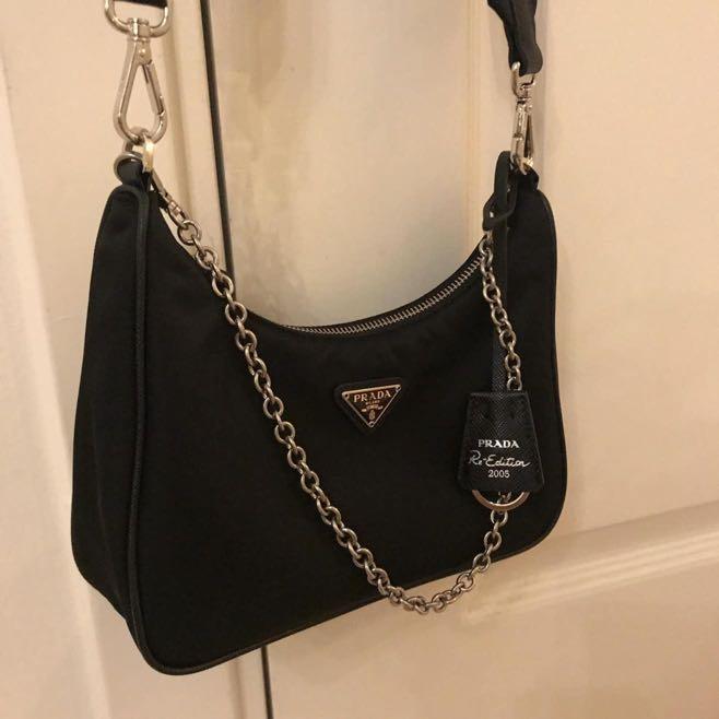 Prada Nylon Crossbody Bag Re Edition 2005