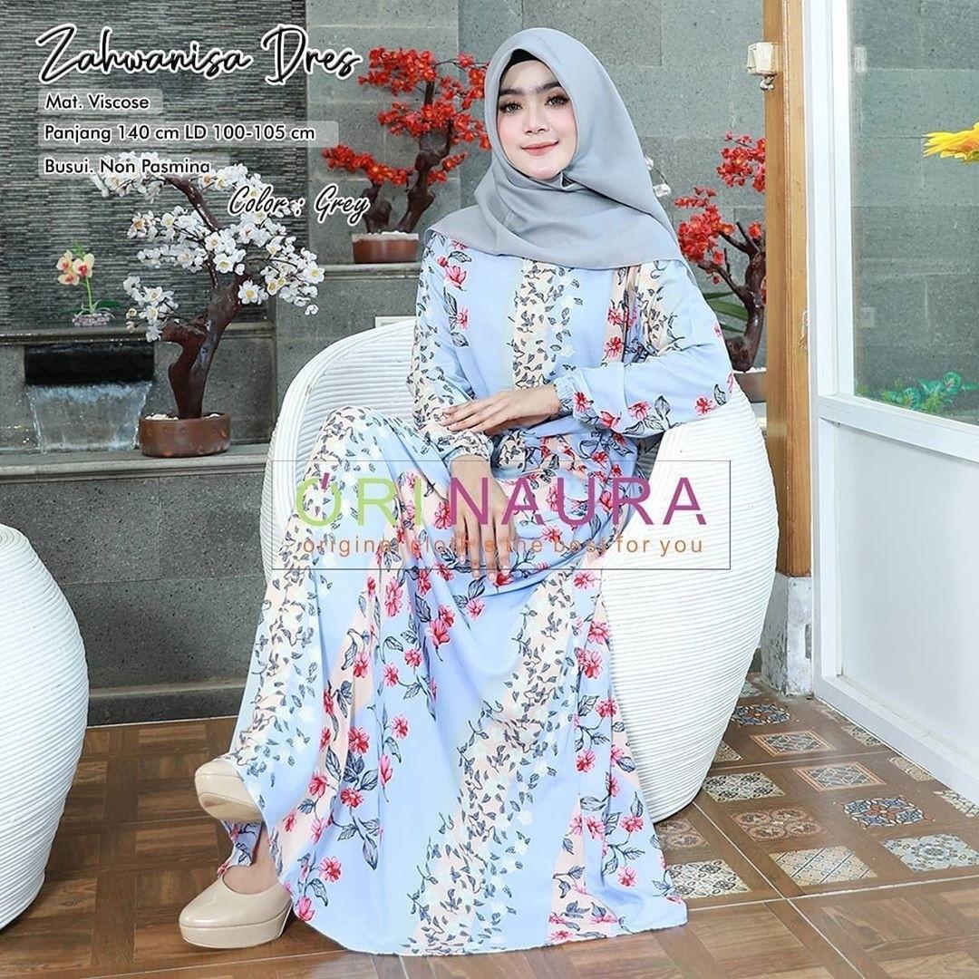 SL Zahwanisa Maxy (Grey Lavender Black Bata) Rp133.000. Detail ada di pict
