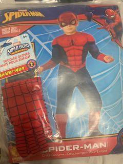 Spider Man Costume Toddler 4T