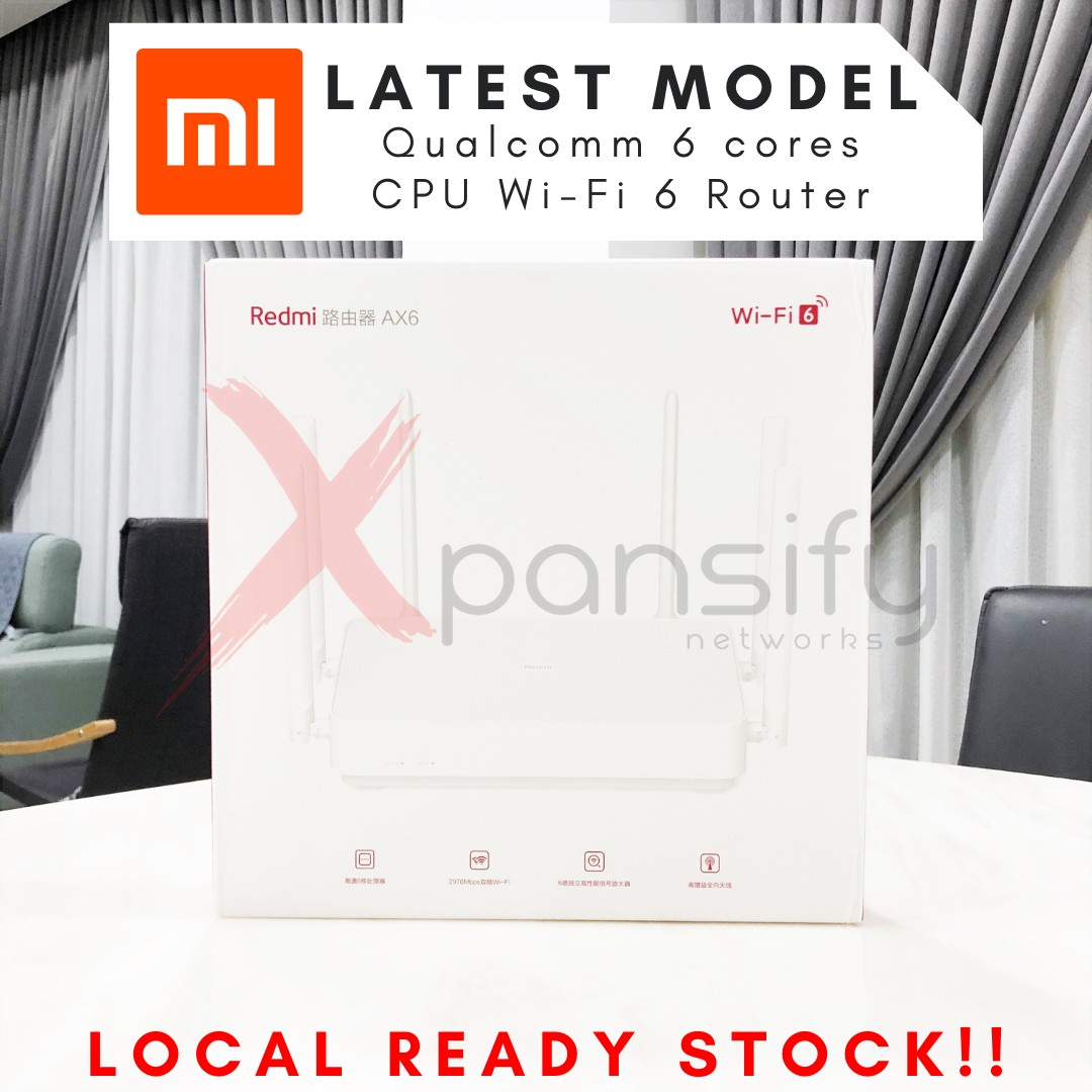 Xiaomi Mi Redmi Ax6 Wifi 6 Router Electronics Computer Parts Accessories On Carousell