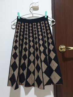 正韓 T.a.b. 菱格針織裙