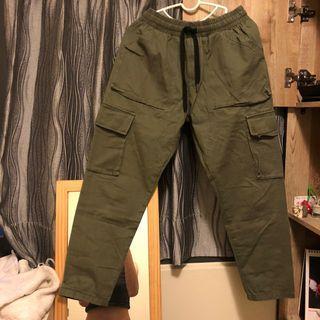 軍綠 工裝褲 免運