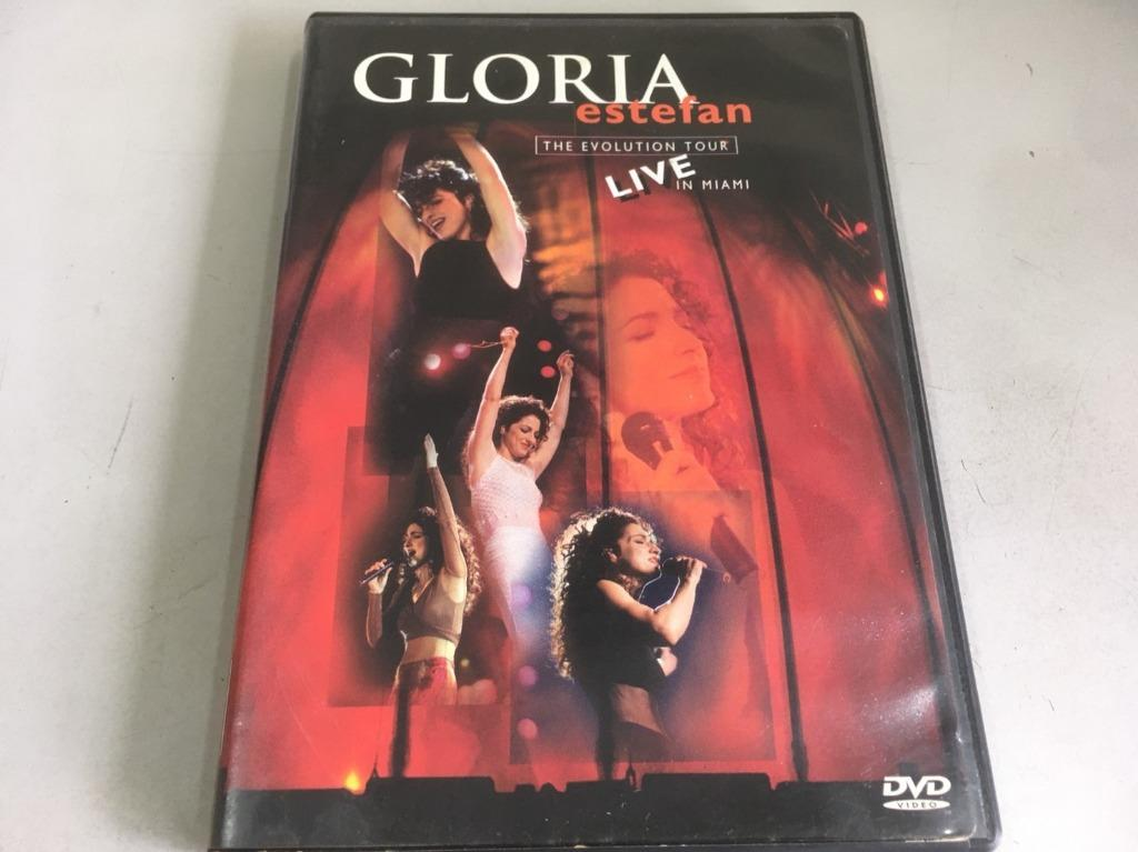 「環大回收」♻二手 DVD 早期 絕版【Gloria Estefan Live in miami 演唱會】美版 請先詢問