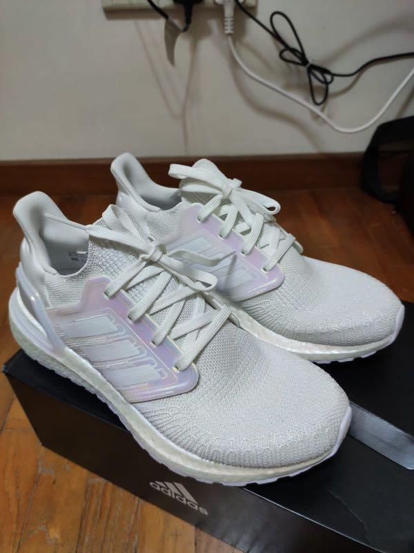 Adidas Ultraboost 20 White Iridescent