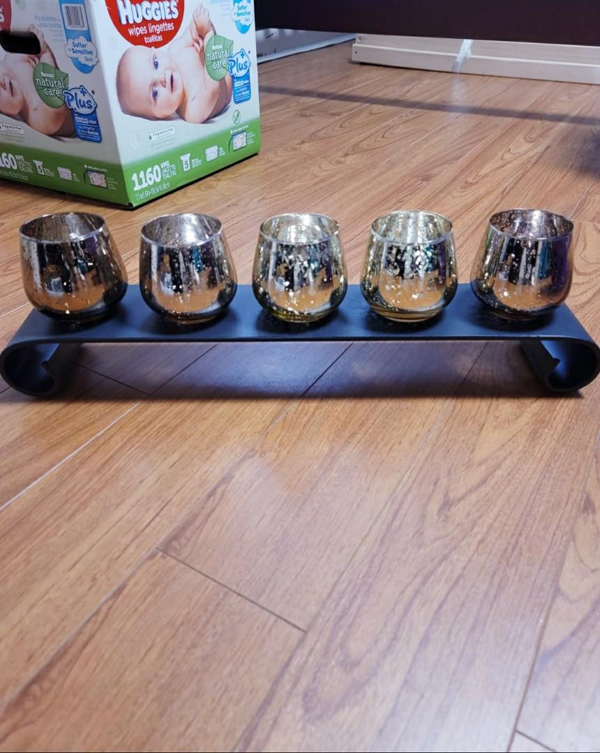 Candle Holders - Decor Table Piece