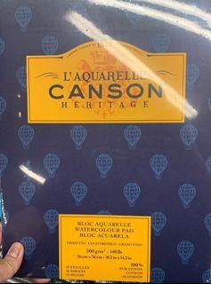 Canson Heritage Watercolor paper
