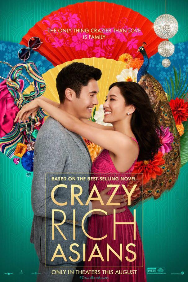 Crazy Rich Asians movie cover