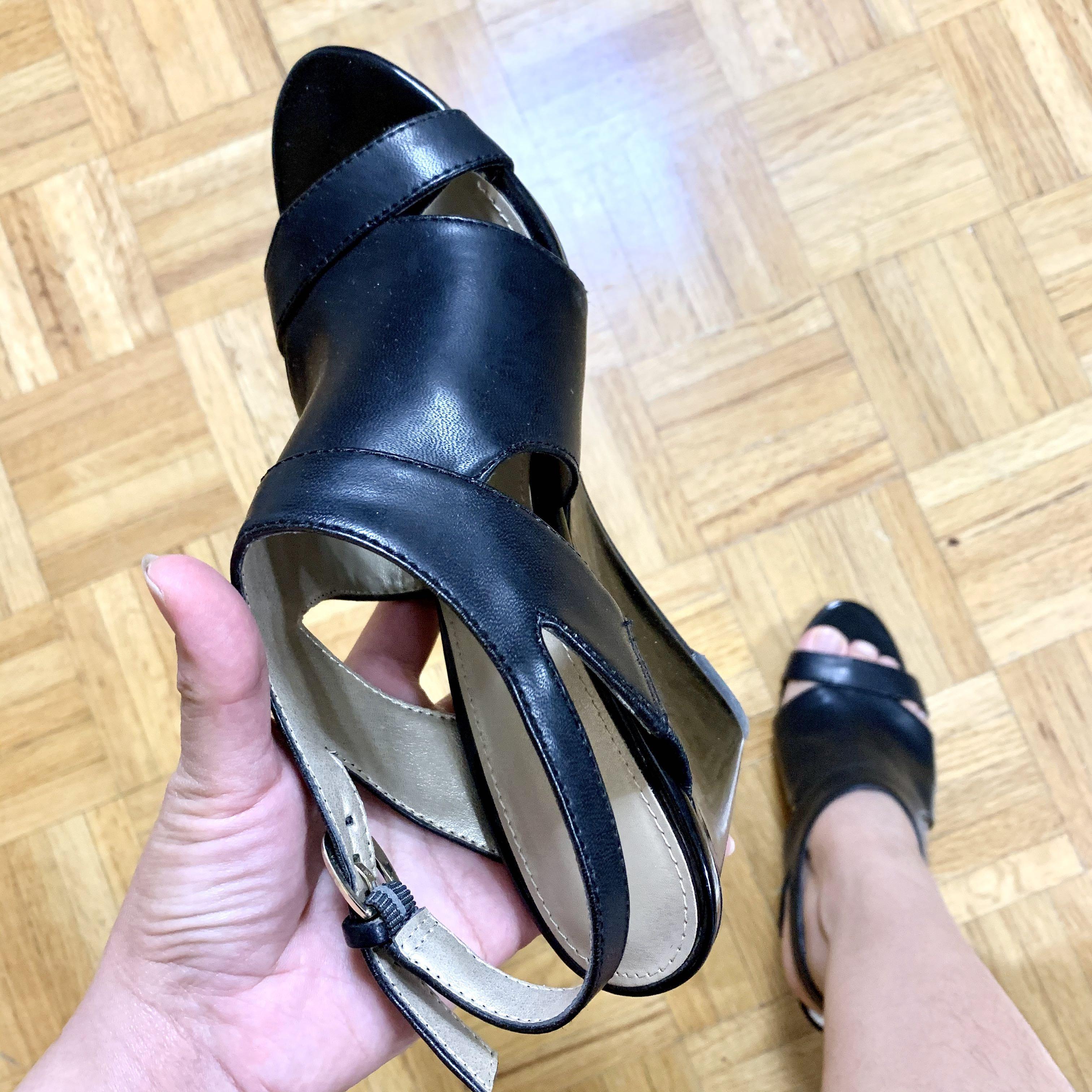 cute black sandal