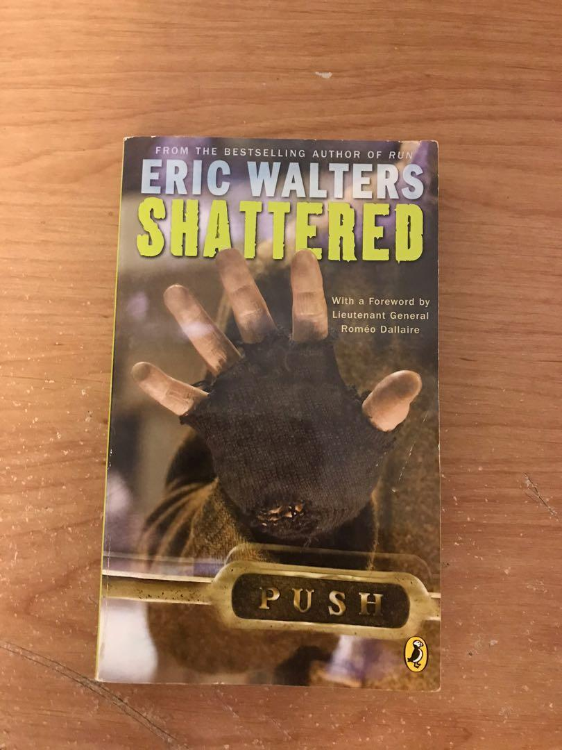 Eric Walters Shattered Book