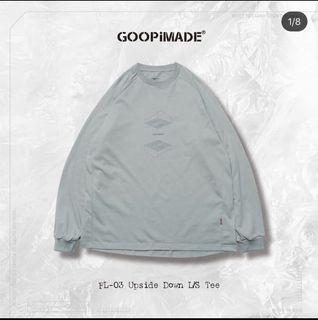 GOOPIMADE.  FL-03 Upside Down L/S Tee