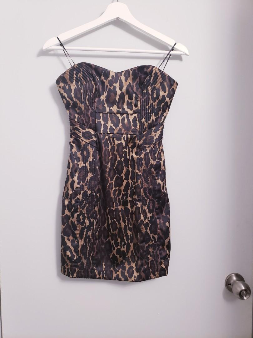 Guess Marciano Cheetah Satin Mini - Size 0