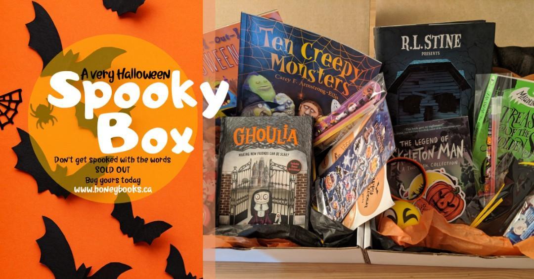Halloween book box