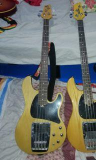 Ibanez ATK and Squier Pbass