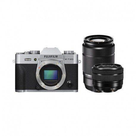 Kredit Fujifilm X-T20 with 15-45mm + 50-230mm