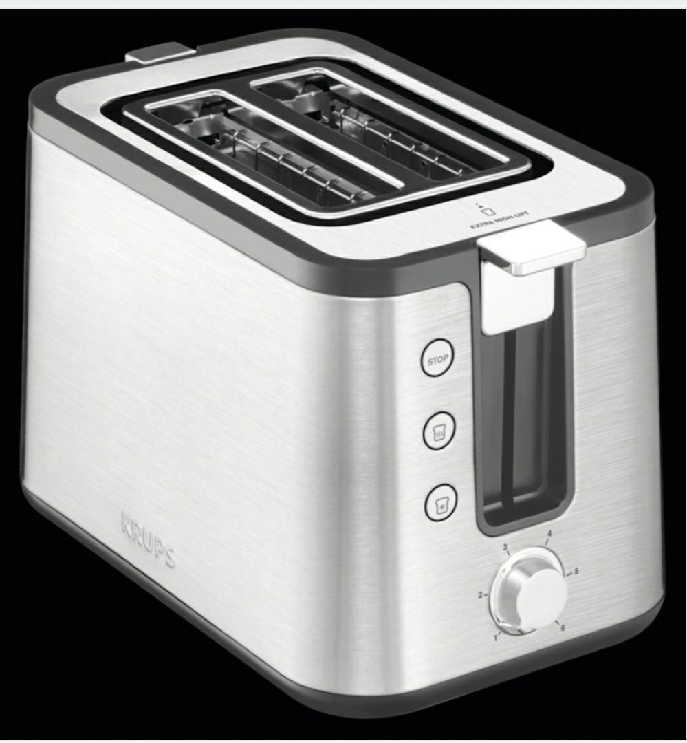 KRUPS Stainless Steel Toaster (2 Slice)
