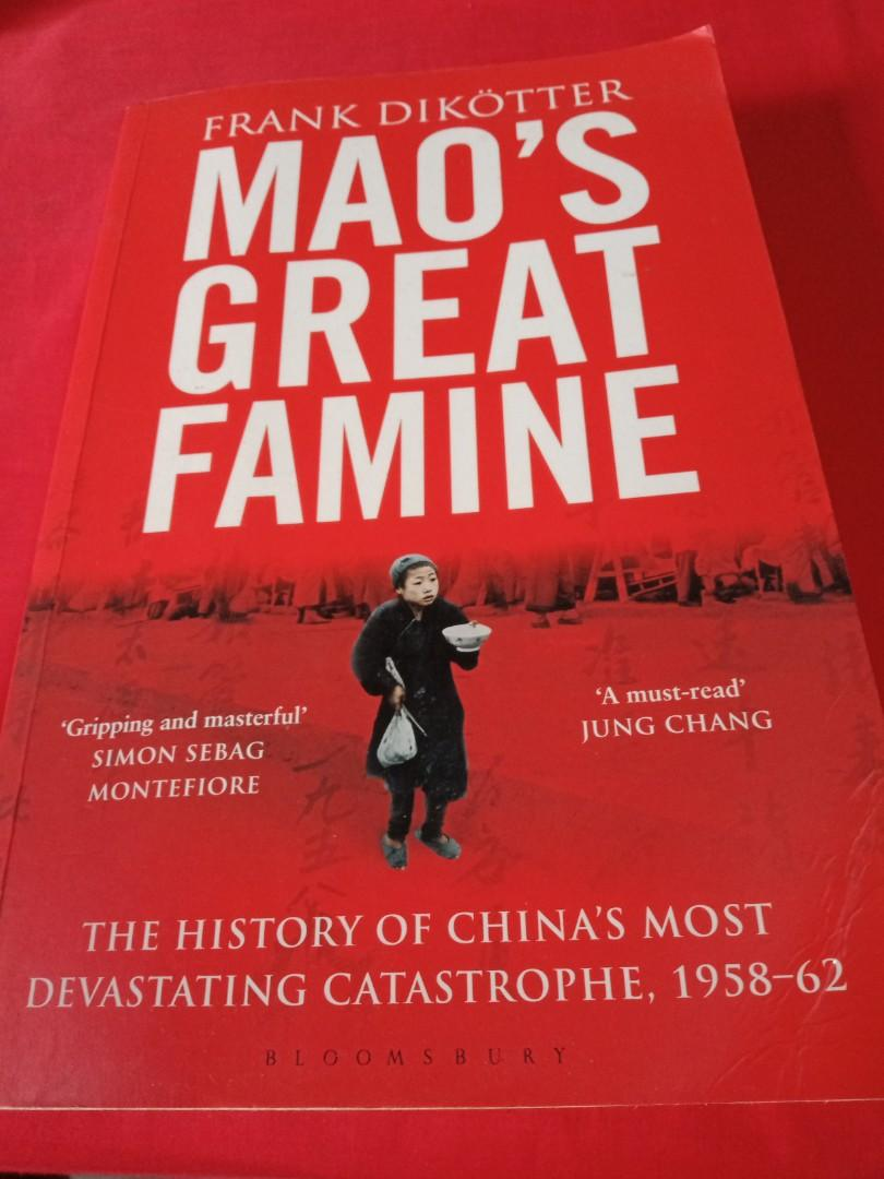 Mao's Great Famine by Frank Dikotter, Books & Stationery, Non-Fiction on Carousell