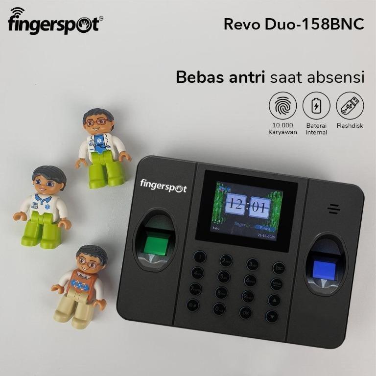 Mesin absensi Revo Duo 158 BNC