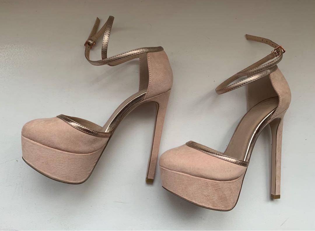 Nude Platform Heels || BRAND NEW