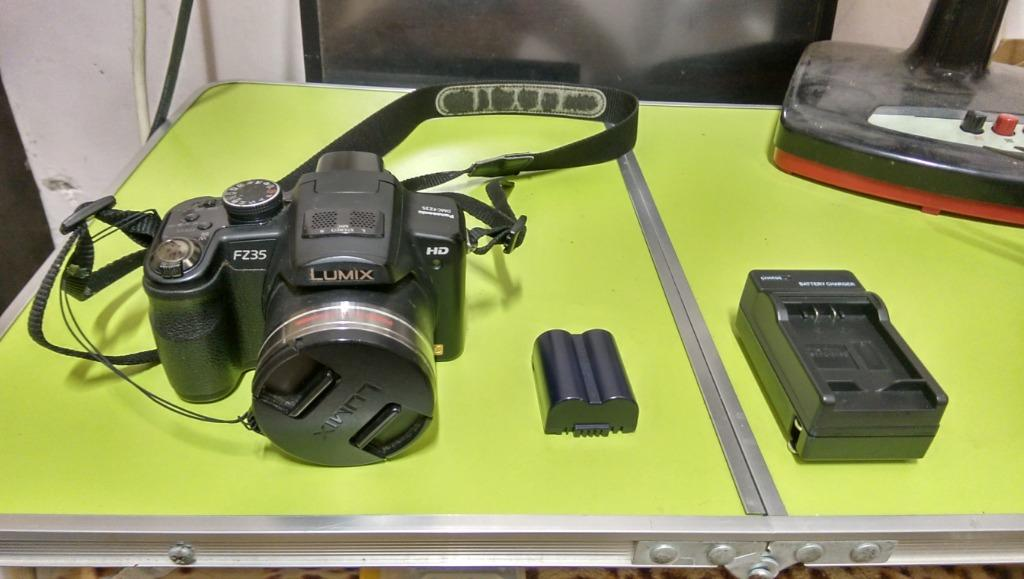 Panasonic FZ35 數位相機 18倍光學變焦