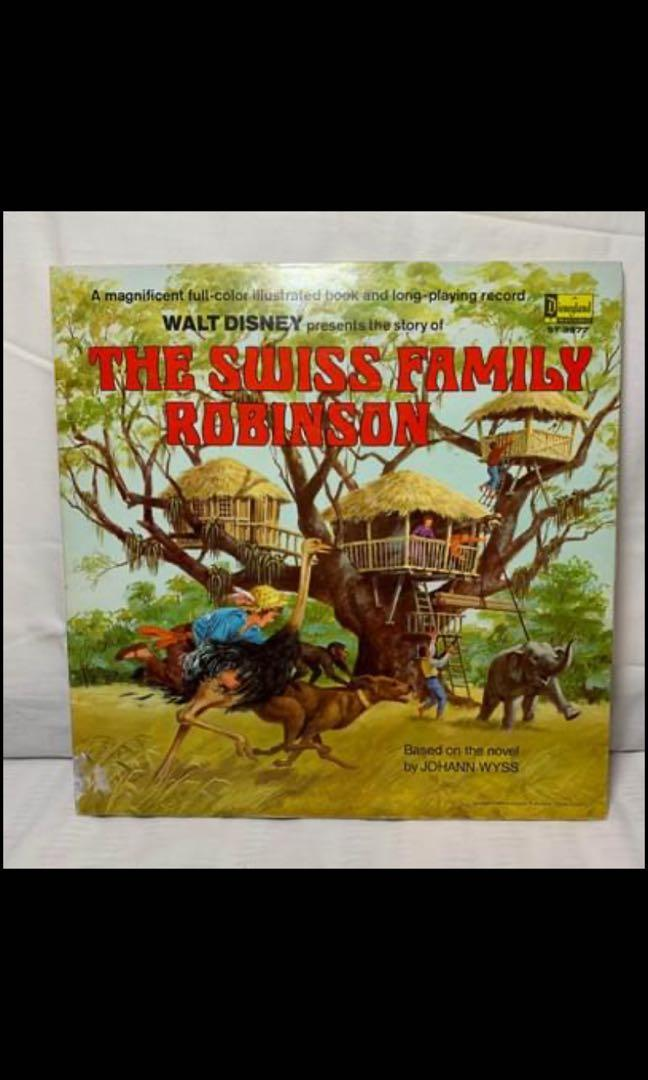 Swiss family Robinson record and book