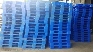 """Used Plastic Pallet Medium Duty - 43""""x43"""""""