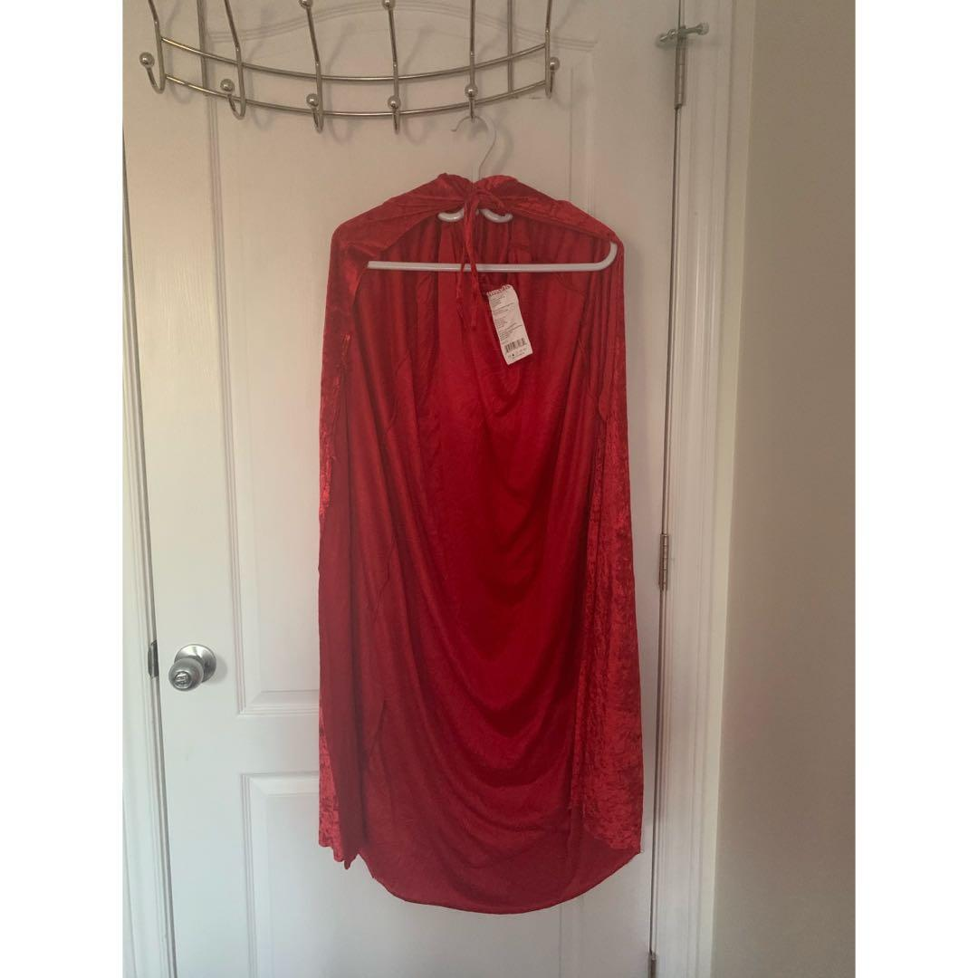 Velvet Red Riding Hood Cape
