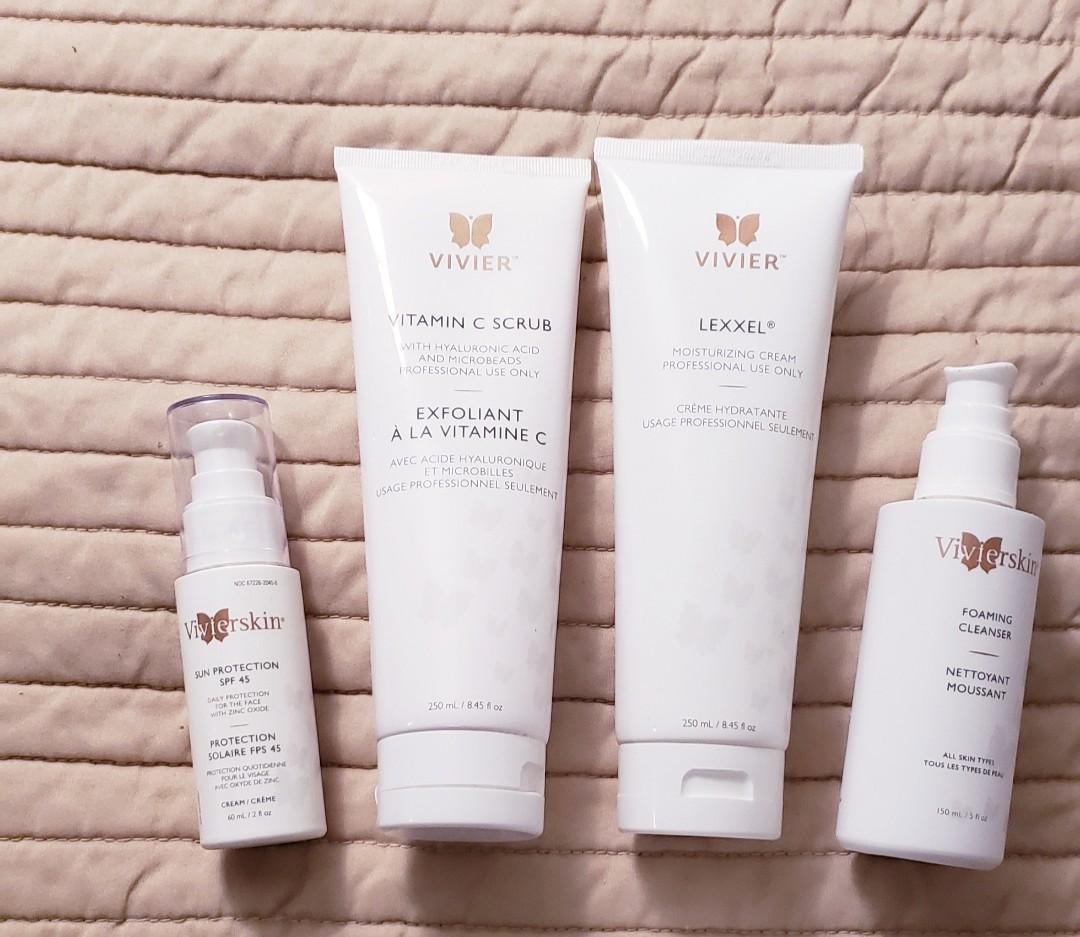 Vivier Skin Care Products Bundle