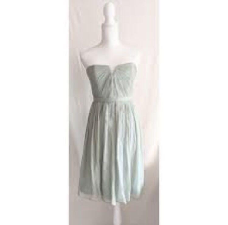 100% Silk J CREW Mauve/ Dusty Pink Dress Size 2