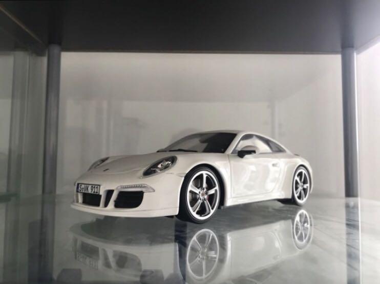 1:18 GT Spirit Porsche 911 (991) Carrera S Aerokit - White / Putih