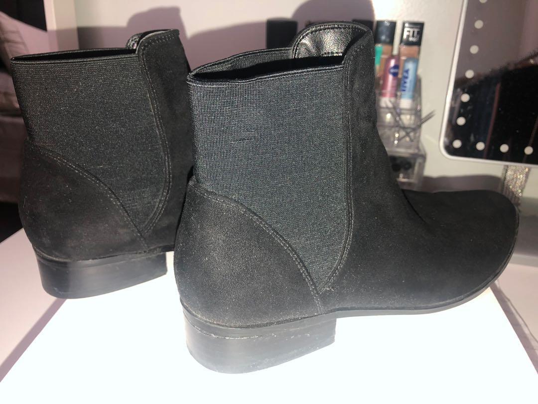 Aldo Suede Chelsea Boots